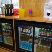 The Village hall committee stocks and staffs the bar.